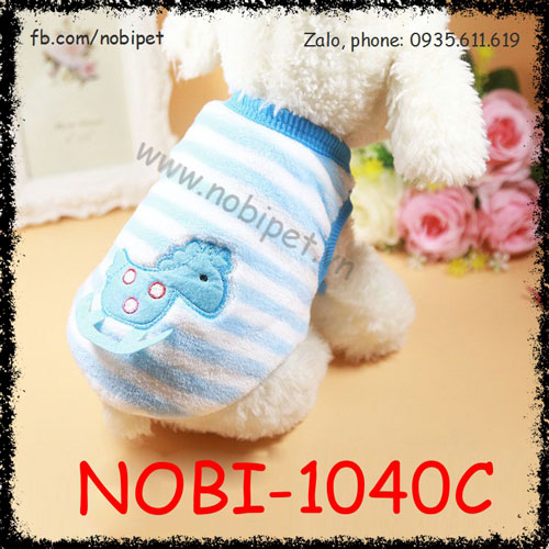 Áo Bông House Cho Chó Mặc Thời Trang Trời Lạnh Nobi-1040C