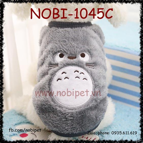 Áo Bông Totoro Cho Chó Mặc Siêu Cute Thời Trang Nobi-1045C