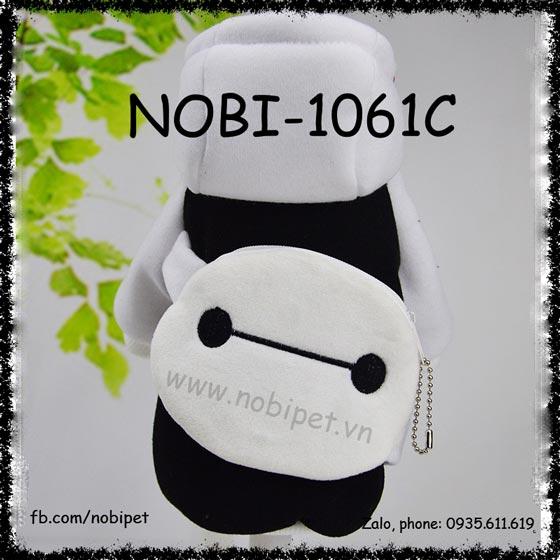 Áo Cho Chó Baymax Ví Bỏ Tiền Thời Trang Nobi-1061C