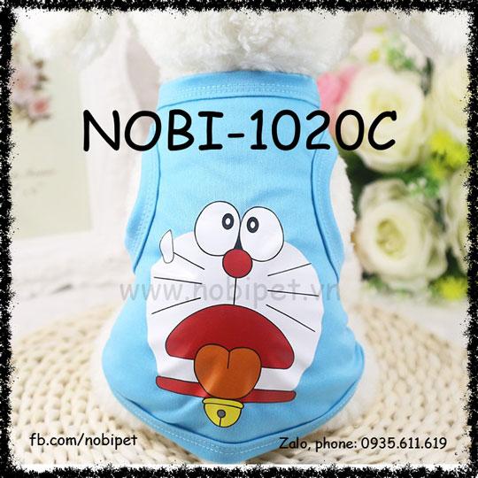 Áo Cho Chó Hình Doremon Thời Trang Siêu Cute Nobi-1020C