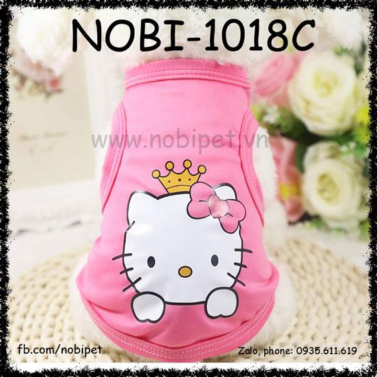 Áo Cho Chó Kitty Dễ Thương Thời Trang Nobi-1018C