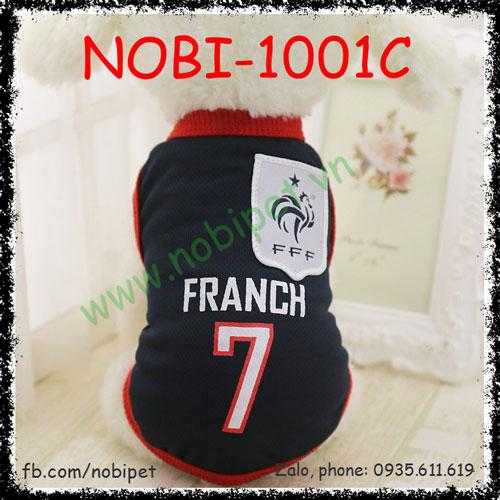 Áo Cho Chó Spain Thời Trang Bóng Đá Nobi-1001C