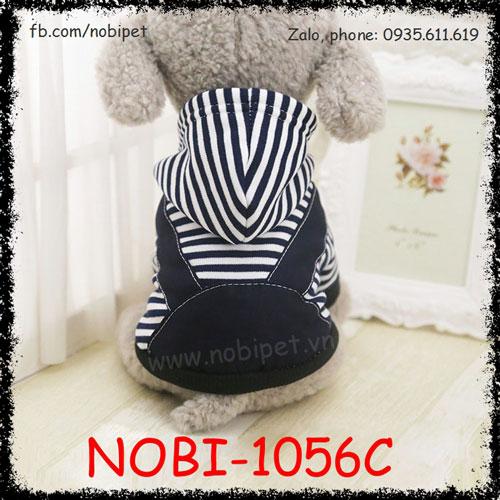 Áo Có Mũ Jimy Cho Chó Thời Trang Cực Xinh Nobi-1056C