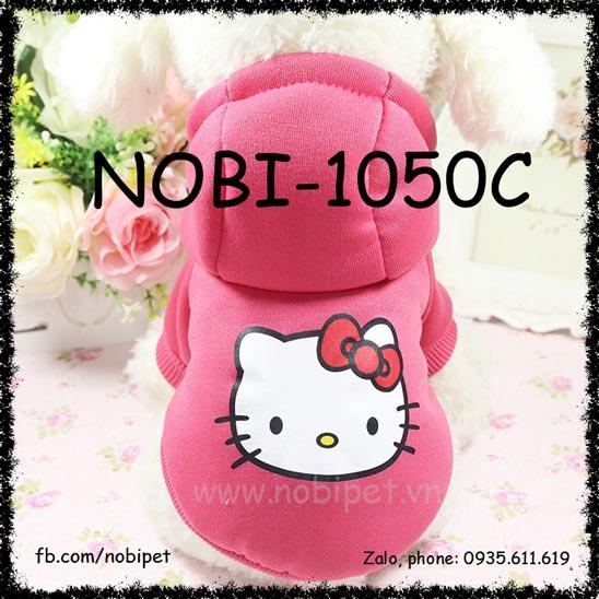Áo Có Mũ Kitty Cat Đồ Mặc Cho Chó Thời Trang Nobi-1050c
