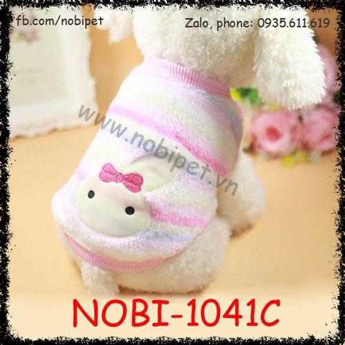 Áo Giữ Ấm Rabbit Cho Chó Thời Trang Siêu Cute Nobi-1041C