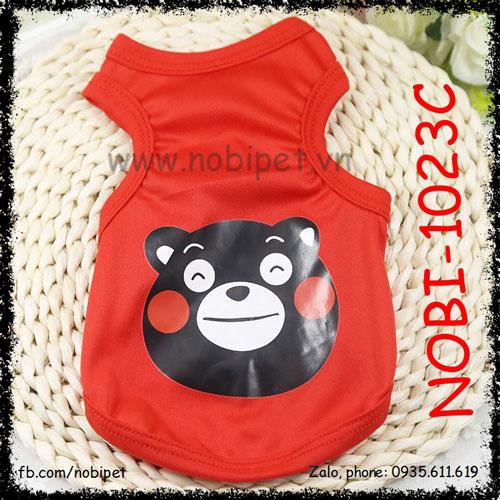 Áo Hình Bear Cho Chó Mặc Đáng Yêu Nobi-1023C