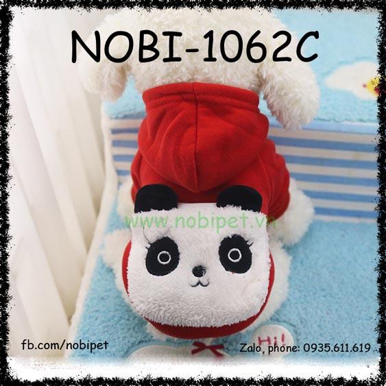 Áo Hình Nổi Panda Cho Chó Mặc Thời Trang Nobi-1062C