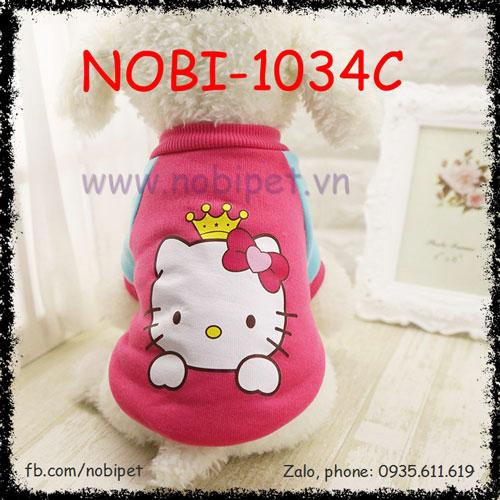 Áo Kitty Thu Đông Cho Chó Mặc Siêu Cute Nobi-1034C