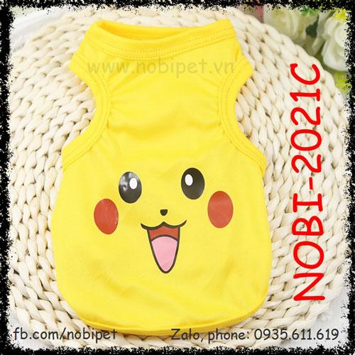 Áo Mặc Cho Chó Pikachu Ngộ Nghĩnh Thời Trang Nobi-1021C