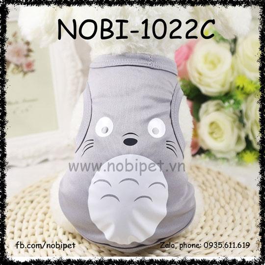 Áo Mặc Hình Totoro Cho Chó Cute Thời Trang Nobi-1022C