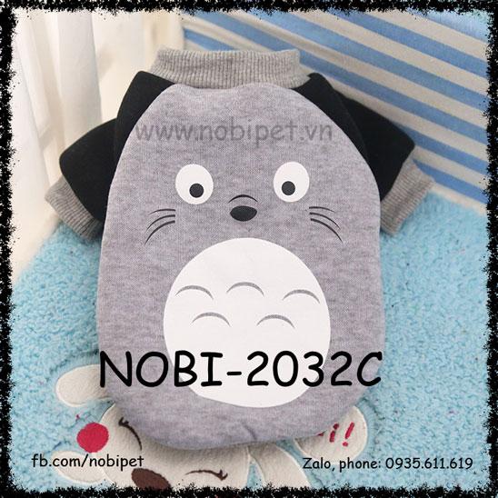 Áo Mùa Đông Totoro Thời Trang Cho Chó Dễ Thương Nobi-2032C