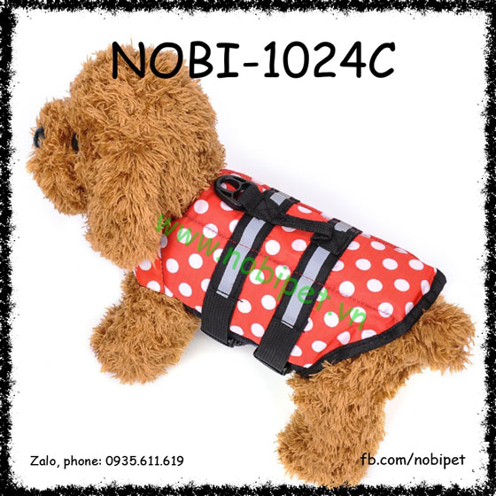 Áo Phao Cho Chó Tập Bơi Và Đi Biển Nobi-1024C