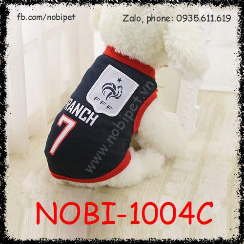 Áo Franch Thời Trang Bóng Đá Cho Chó Nobi-1004C