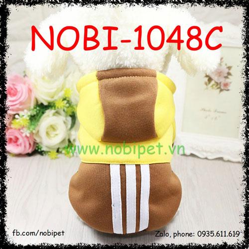 Áo Thời Trang Noname Có Mũ Cho Chó Cá Tính Nobi-1048C
