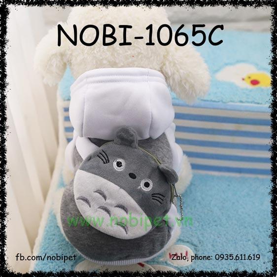 Áo Thời Trang Totoro Cho Chó Túi Kéo Đựng Tiền Nobi-1065C