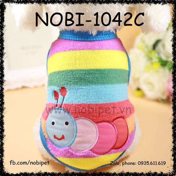 Áo Thu Đông Bug Cho Chó Mặc Thời Trang Nobi-1042C