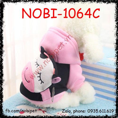 Áo Thu Đông Daisy Cho Chó Mặc Có Ví Tiền Nobi-1064C
