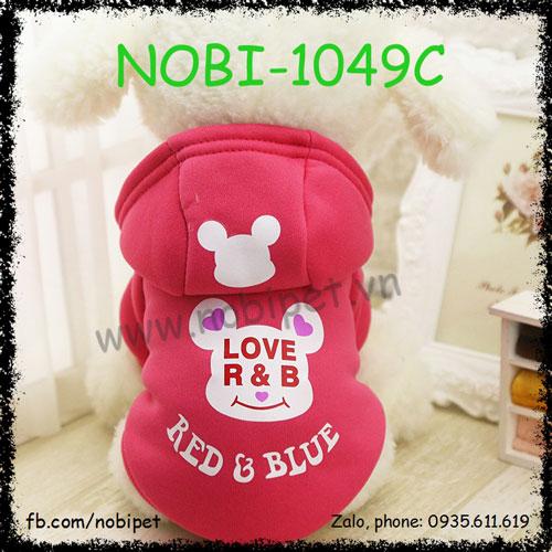 Áo Thu Đông Reb Blue Cho Chó Thời Trang Cực Chất Nobi-1049C