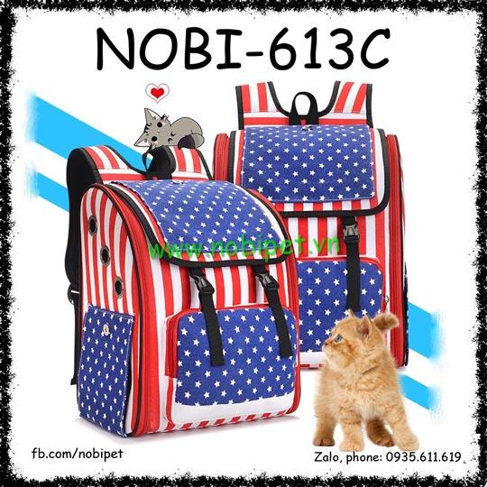 Ba Lô Adventure Vận Chuyển Chó Mèo Có Tay Kéo Nobi-613C