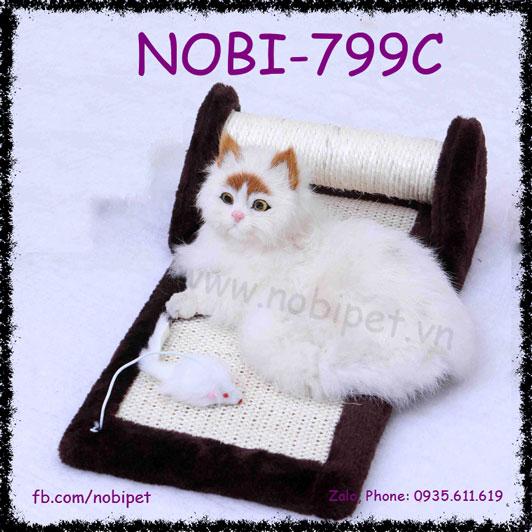 Bàn Cào Móng Marathon Cho Mèo Nằm Chơi Nobi-799C