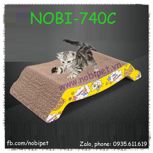Bàn Cào Móng Mèo Tiger Đồ Chơi Giảm Stress Nobi-740C
