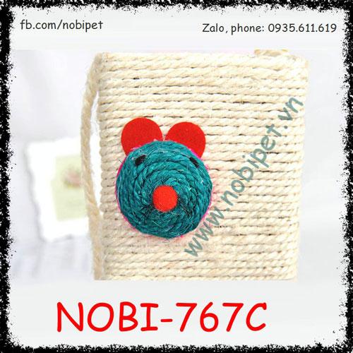 Bàn Cào Móng Mouse Cho Mèo Chơi Giảm Stress Nobi-767C