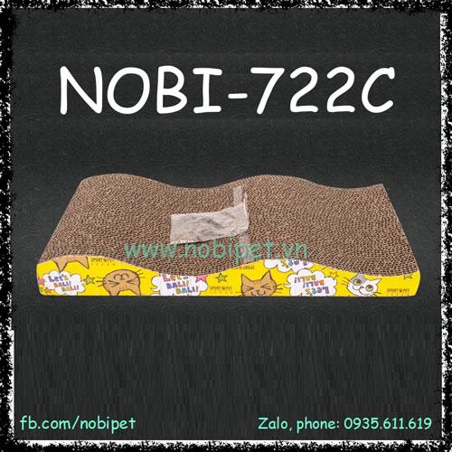 Bàn Cào Móng Wave Cho Mèo Chơi Giảm Stress Nobi-722C