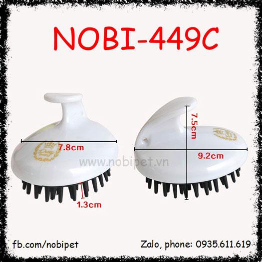 Bàn Chải Angola Gỡ Rối Lông Khi Tắm Chó Nobi-449C