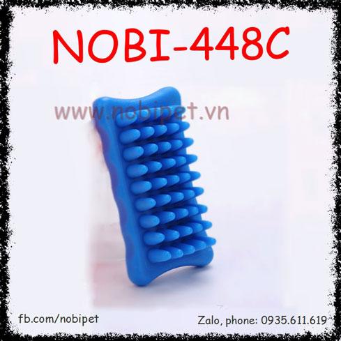 Bàn Chải Massage Ruby Tắm Cho Chó Mèo Nobi-448C