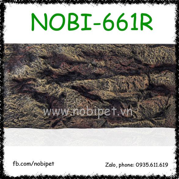 Bảng Nền Vân Đá Rêu Tạo Cảnh Chuồng Nuôi Bò Sát Nobi-661R