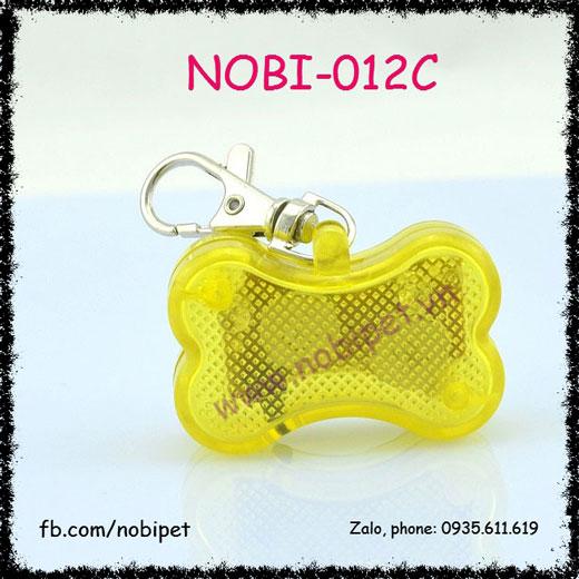 Bảng Tên Khúc Xương LED Đeo Cổ Cho Chó Nobi-012C