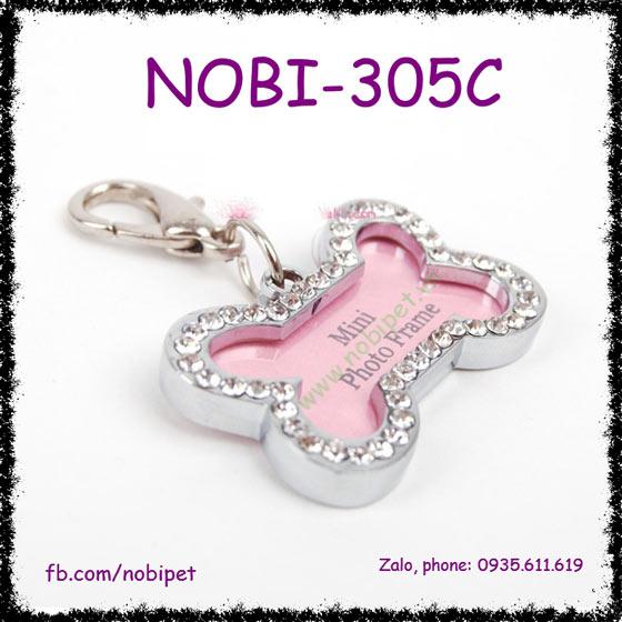 Bảng Tên Myname Đeo Cổ Cho Chó Sang Chảnh Nobi-305C