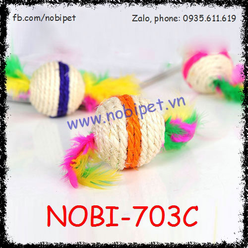 Banh Cào Móng Skill Cho Mèo Dây Dừa Nobi-703C