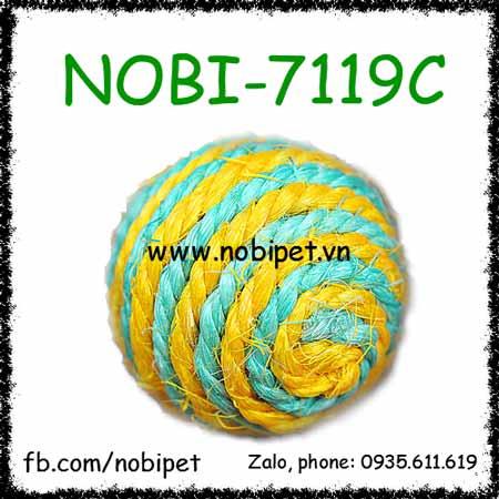 Banh Đồ Chơi Xilen Cho Chó Mèo NOBI-7119C