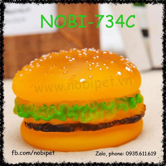 Bánh Hambuger Nhựa Đồ Chơi Cho Chó Nobi-734C