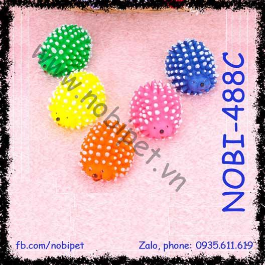 Bánh Su Hình Nhím Đồ Chơi cho Chó Mèo NOBI-488C