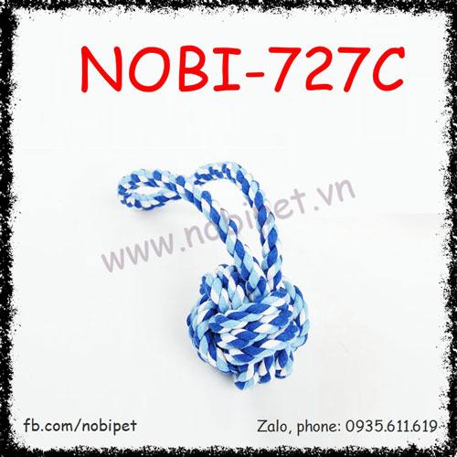 Banh Vải Quăn Silk Đồ Chơi Huấn Luyện Cho Chó Nobi-727C