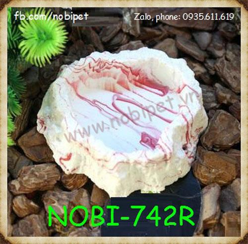 Bát Đựng Nước Phú Sĩ Vân Đá Cẩm Thạch Cho Nhện Bò Sát Nobi-742R