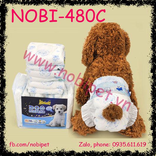 Bỉm Dán Dog Diapes nhiều kích cỡ cho Chó Mèo NOBI-480C
