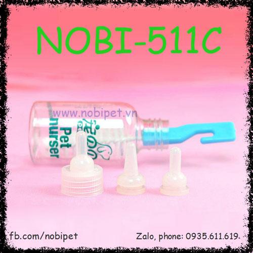 Bình Bú Sữa Petbaby Cho Chó Mèo Con Nobi-511C