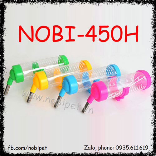 Bình Nước 125ml Deluxe Bi Lăn Vật Dụng Nuôi Chuột Hamster Nobi-450H