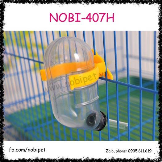 Bình Nước Chân Không Gắn Lồng Cho Chuột Hamster Nobi-407H