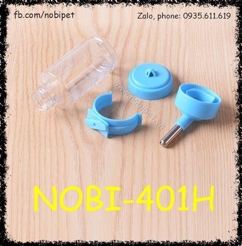 Bình Nước 80ml Đầu Uống Bi Lăn Cho Thỏ Kiểng Bọ Ú Nobi-401H