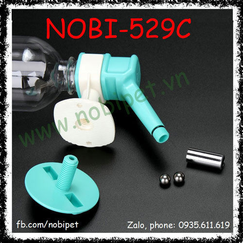 Bình Nước Uống Luci Cao Cấp Cho Chó Mèo Nobi-529C