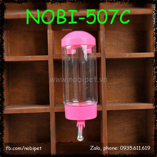 Bình Uống Nước Deluxe Cho Chó Mèo Gắn Lồng Nobi-507C