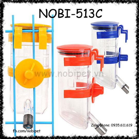 Bình Uống Nước Rubic Gắn Lòng Cho Chó Mèo Nobi-513C