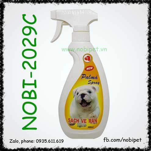 Bình Xịt Palma Spray Sạch Ve Rận Chó Mèo Nobi-2029C