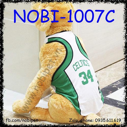 Bộ Áo Football Clubs Thời Trang Cho Chó Nobi-1007C