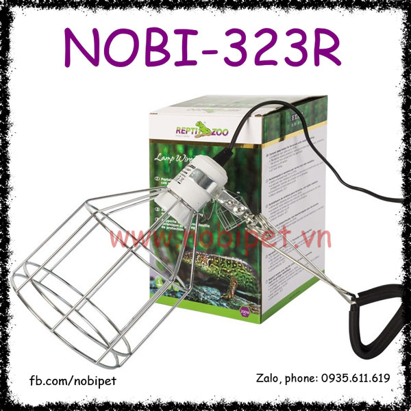 Bộ Khung Chịu Nhiệt Không Gỉ Che Bóng Sưởi Bò Sát Nobi-323R