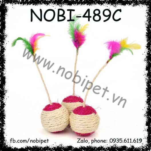 Bòng Cây Sisal  Đồ Chơi Vờn Mèo NOBI-489C
